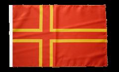 France Normandy St. Olaf Cross Flag - 12 x 18 inch