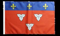 France Orléans Flag with sleeve
