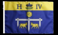 France Pau Flag with sleeve