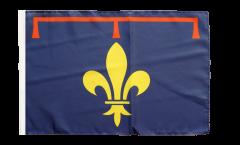 France Provence Flag - 12 x 18 inch