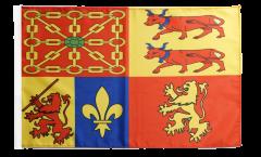 France Pyrénées-Atlantiques Flag - 12 x 18 inch
