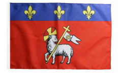 France Rouen Flag - 12 x 18 inch