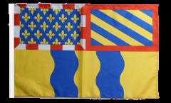 France Saône-et-Loire Flag - 12 x 18 inch