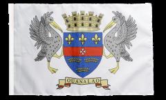 France Saint Barthélemy Flag with sleeve