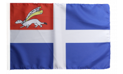 France Saint-Malo Flag - 12 x 18 inch