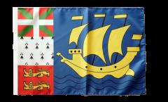 Saint Pierre and Miquelon Flag - 12 x 18 inch