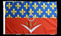 France Seine-Saint-Denis Flag - 12 x 18 inch