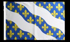 France Yvelines Flag with sleeve