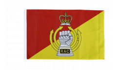 Great Britain British Army Royal Armoured Corps Flag - 12 x 18 inch