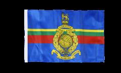Great Britain Royal Marines Flag - 12 x 18 inch