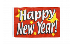 Happy New Year Flag - 12 x 18 inch