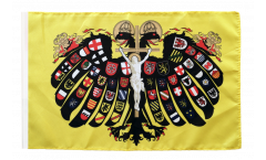 Holy Roman Empire Double-headed Eagle Flag - 12 x 18 inch