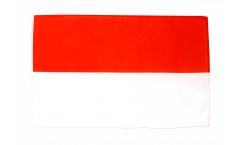 Indonesia Flag with sleeve