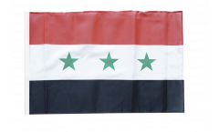 Iraq without writing 1963-1991 Flag - 12 x 18 inch