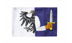 Ireland Connacht Flag - 12 x 18 inch