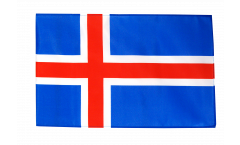 Iceland Flag - 12 x 18 inch