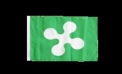 Italy Lombardia Flag - 12 x 18 inch
