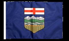 Canada Alberta Flag with sleeve