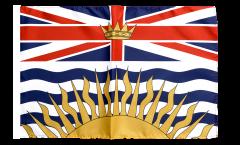 Canada British Columbia Flag with sleeve