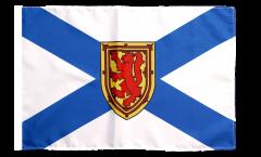 Canada Nova Scotia Flag with sleeve