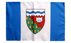 Canada Northwest Territories Flag with sleeve