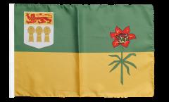 Canada Saskatchewan Flag - 12 x 18 inch