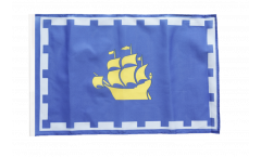Canada Quebec City Flag with sleeve