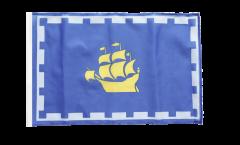 Canada Quebec City Flag - 12 x 18 inch