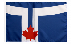 Canada City of Toronto Flag with sleeve