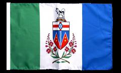 Canada Yukon Flag with sleeve