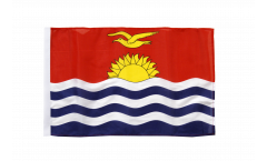 Kiribati Flag with sleeve