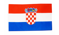 Croatia Flag with sleeve