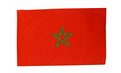 Morocco Flag with sleeve