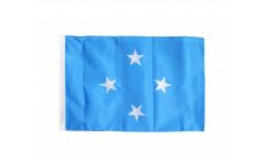 Micronesia Flag with sleeve