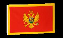 Montenegro Flag - 12 x 18 inch