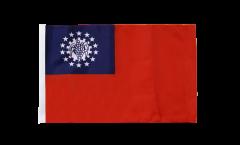 Myanmar 1974-2010 Flag - 12 x 18 inch