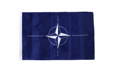 NATO Flag with sleeve