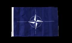 NATO Flag - 12 x 18 inch