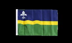 Netherlands Flevoland Flag with sleeve
