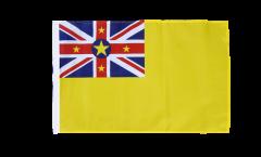 Niue Flag - 12 x 18 inch