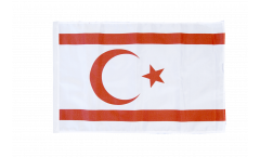 North Cyprus Flag with sleeve