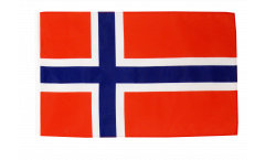 Norway Flag with sleeve