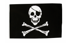 Pirate Skull and Bones Flag with sleeve
