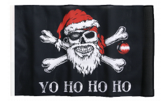 Pirate Yo ho ho Flag with sleeve