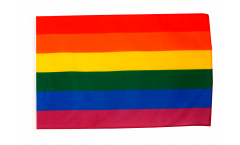 Rainbow Flag with sleeve