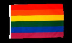 Rainbow Flag with sleeve