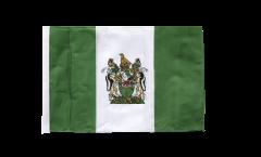 Rhodesia Flag - 12 x 18 inch