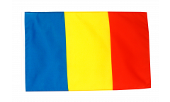 Rumania Flag - 12 x 18 inch