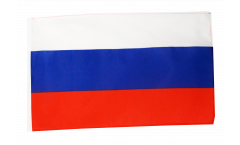 Russia Flag with sleeve