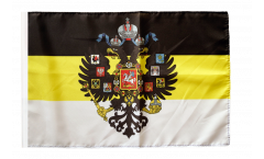 Russia Romanov with Crest 1858-1883 Flag - 12 x 18 inch